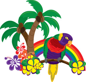 Tropical clipart hawaii #4
