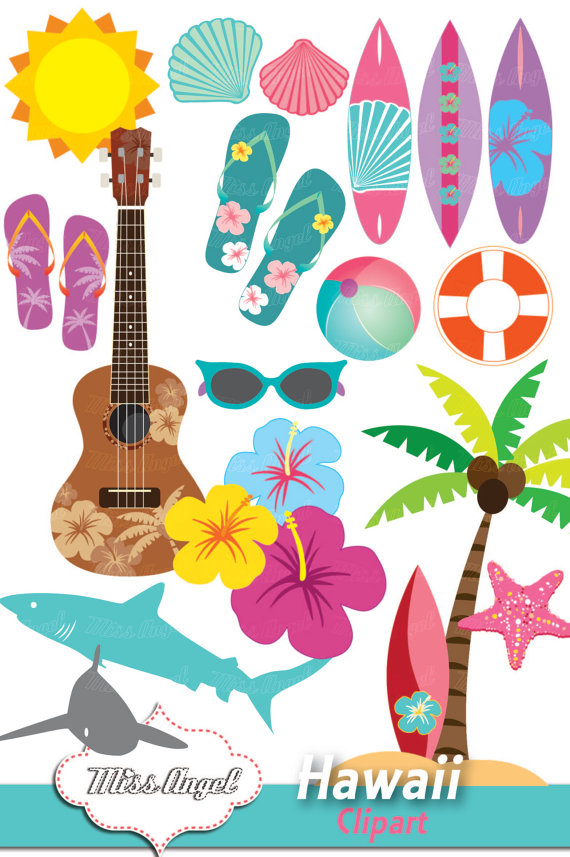 Hawaii clipart hawaii state flower A  is Hukelele Clip