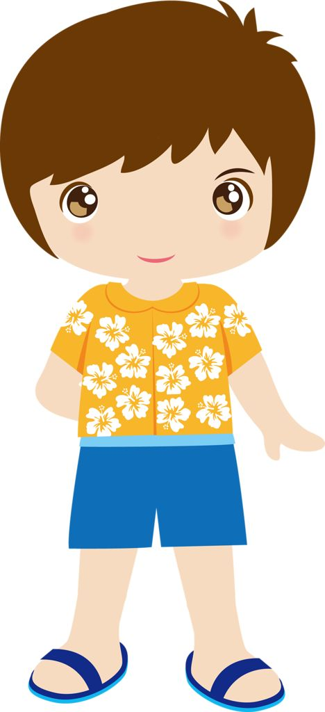 Tropical clipart hawaiian person #4