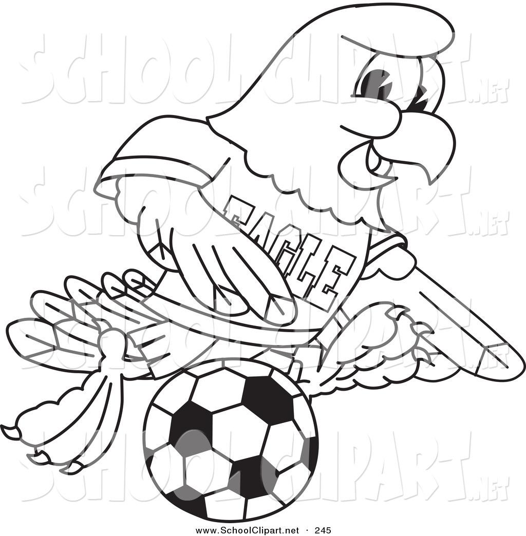 Bald Eagle clipart hawk Mascot Clipart Clipart Clipart Hawk