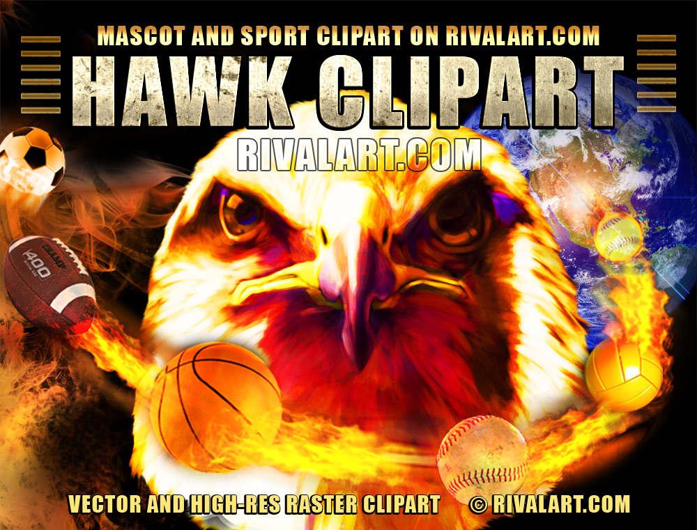 Hawk clipart football Printing Rivalart shirt Clipart Hawk