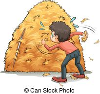 Haystack clipart Needle illustrations Needle 18 Graphics