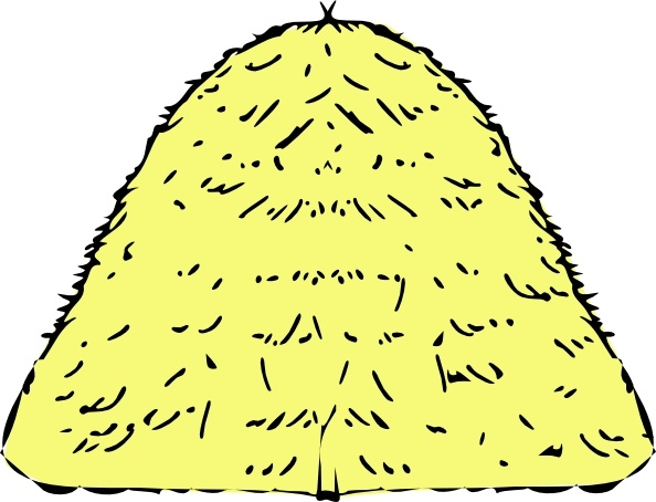 Haystack clipart ( art vector svg drawing