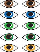 Hazel Eyes clipart Eye Eyes GoGraph background ·