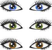 Hazel Eyes clipart brwon GoGraph of 3 eyes pair