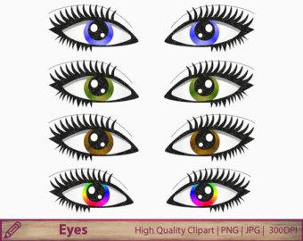 Hazel Eyes clipart Hazel Etsy Clipart Hazel eyes