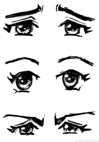 Eyeball clipart anime eye Sketch India) an eyes? Embroidery