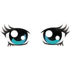 Hazel Eyes clipart anime Stencil Eyes Anime Ögon munnar
