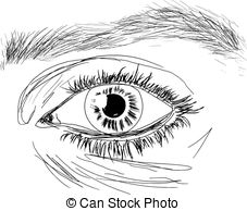 Hazel Eyes clipart black and white Clip Art hazel Vector Clipart