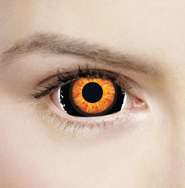 Hazel Eyes clipart brown eyeball Lens Contacts Sclera Halloween 17mm