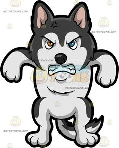 Cartoon And Puppy A Clipart