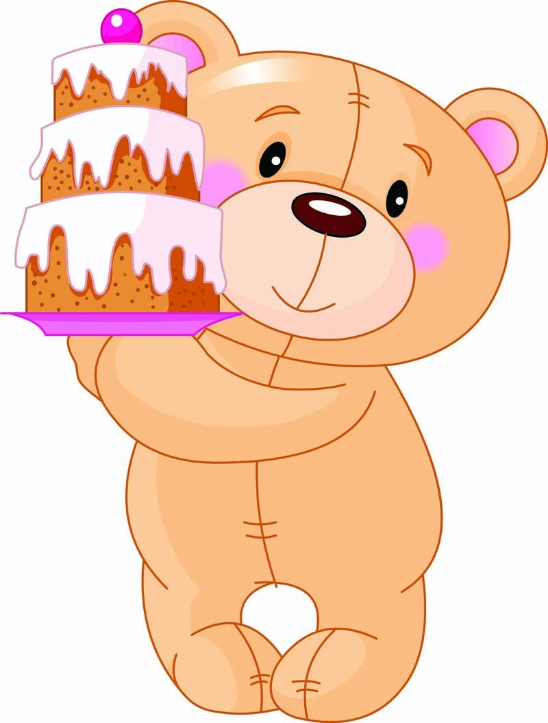 Birthday cake bringing I