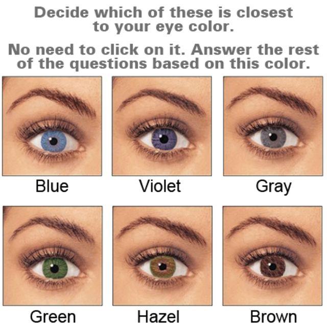 Hazel Eyes clipart child eye We Eye Your Quiz Color?