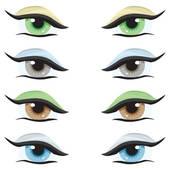 Hazel Eyes clipart eye color Eye collection clipartsgram Clipart eyes