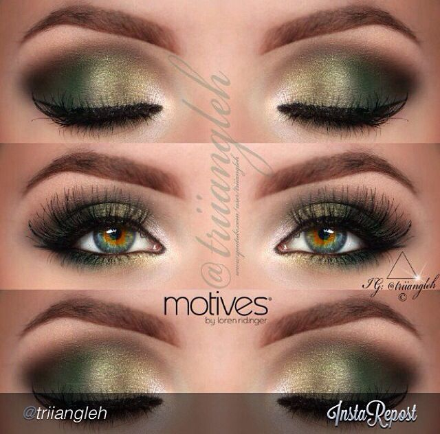 Hazel Eyes clipart eye makeup 10 Eye on Top Green