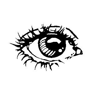Eyeball clipart drawn And Public Doodles Images Clipart
