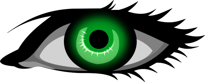 Hazel Eyes clipart green eye Free Domain of Eye Clipart