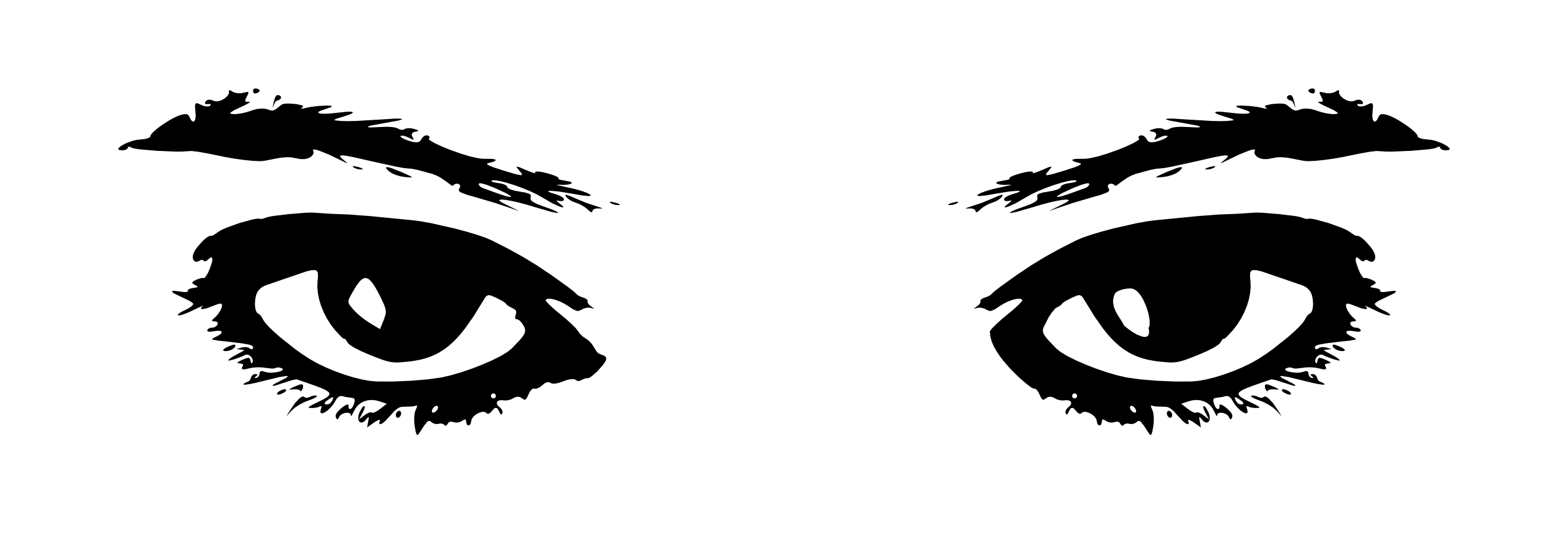 Hazel Eyes clipart transparent Clip of cartoon eye art