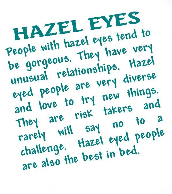 Hazel Eyes clipart visual #9