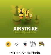 H-bomb clipart color Clipart H H Airstrike Vector