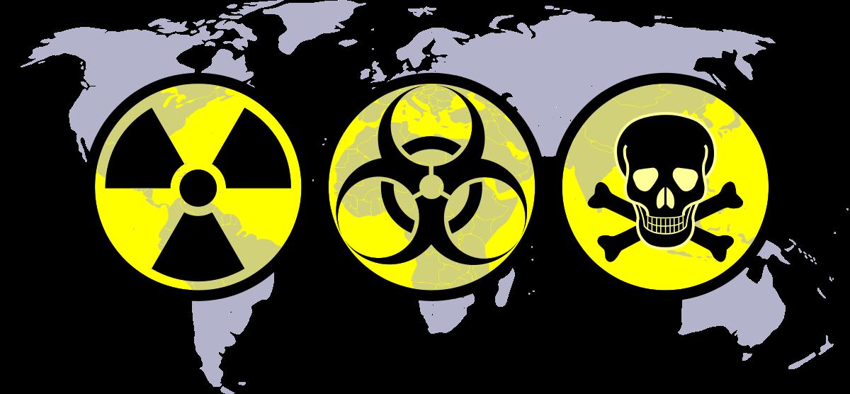 Destruction clipart nuclear bomb  Wikipedia warfare Biological