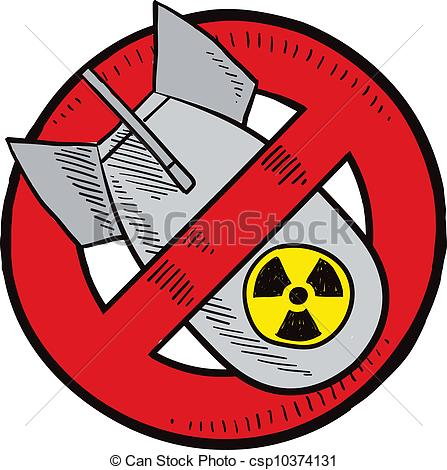 Sketch clipart bomb Weapons  Nuclear