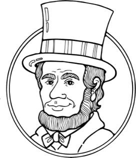 Head clipart abraham lincoln Abe Lincoln Abraham Cliparts Cliparts