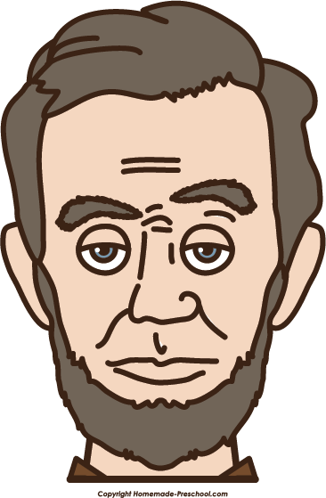 Head clipart abraham lincoln Click Clipart President Image to