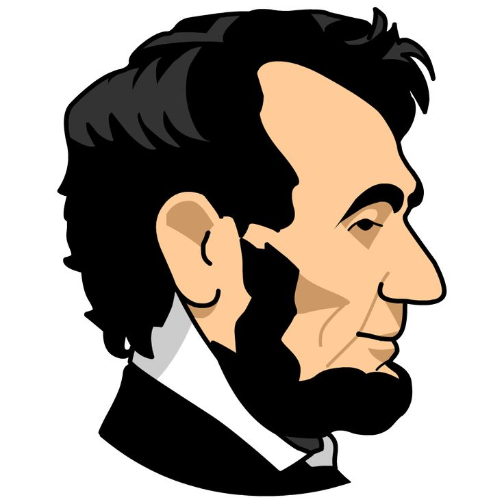 Head clipart abraham lincoln Abraham Lincoln Abraham on images