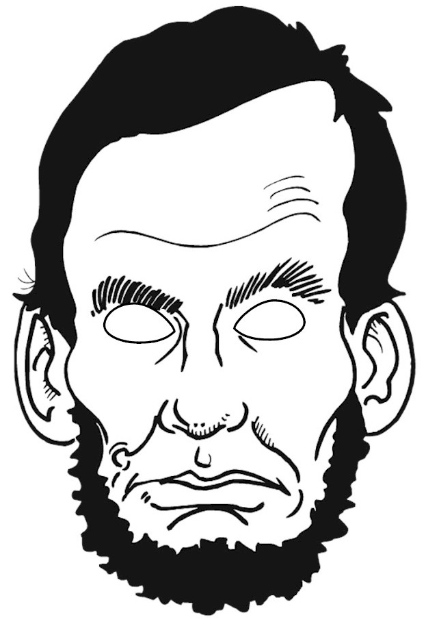 Head clipart abraham lincoln Abe Abraham (49+) collection color