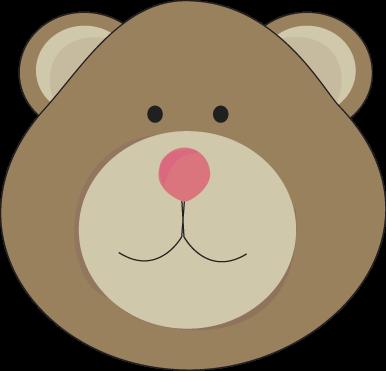 Teddy clipart head #7
