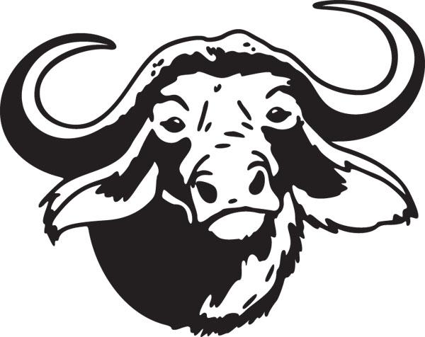 Bison clipart buffalo head Photo#11 head Clip Buffalo clip