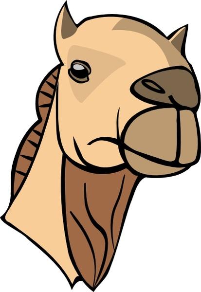 Camel clipart camel head Svg clip art Free vector