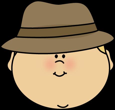 Mystery clipart face #1