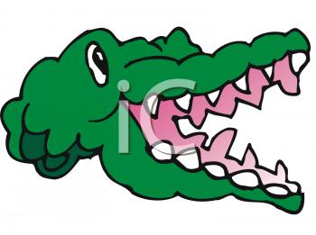 Alligator clipart mouth open Panda Crocodile Clipart Free Art