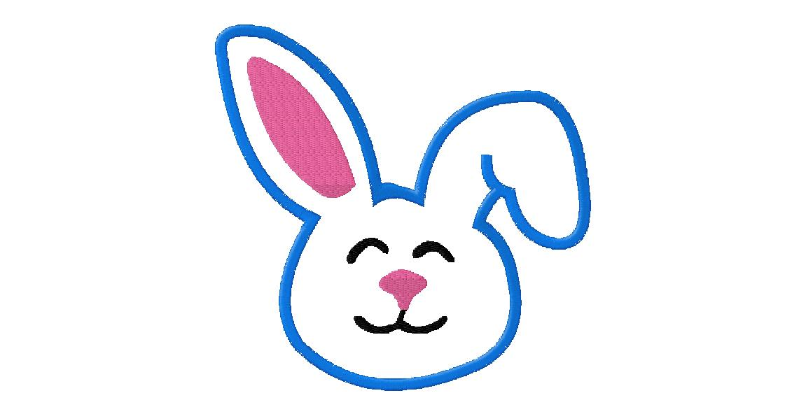 Simple clipart easter bunny #6
