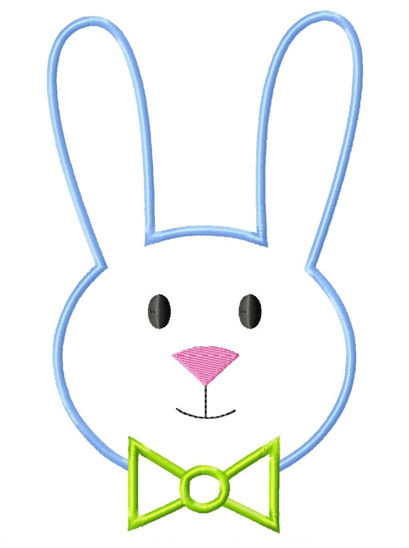 Simple clipart bunny #6