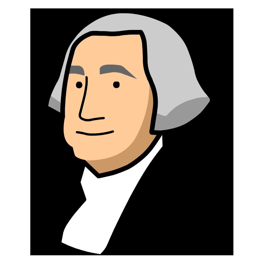 Head clipart george washington George George X: GameUp Washington
