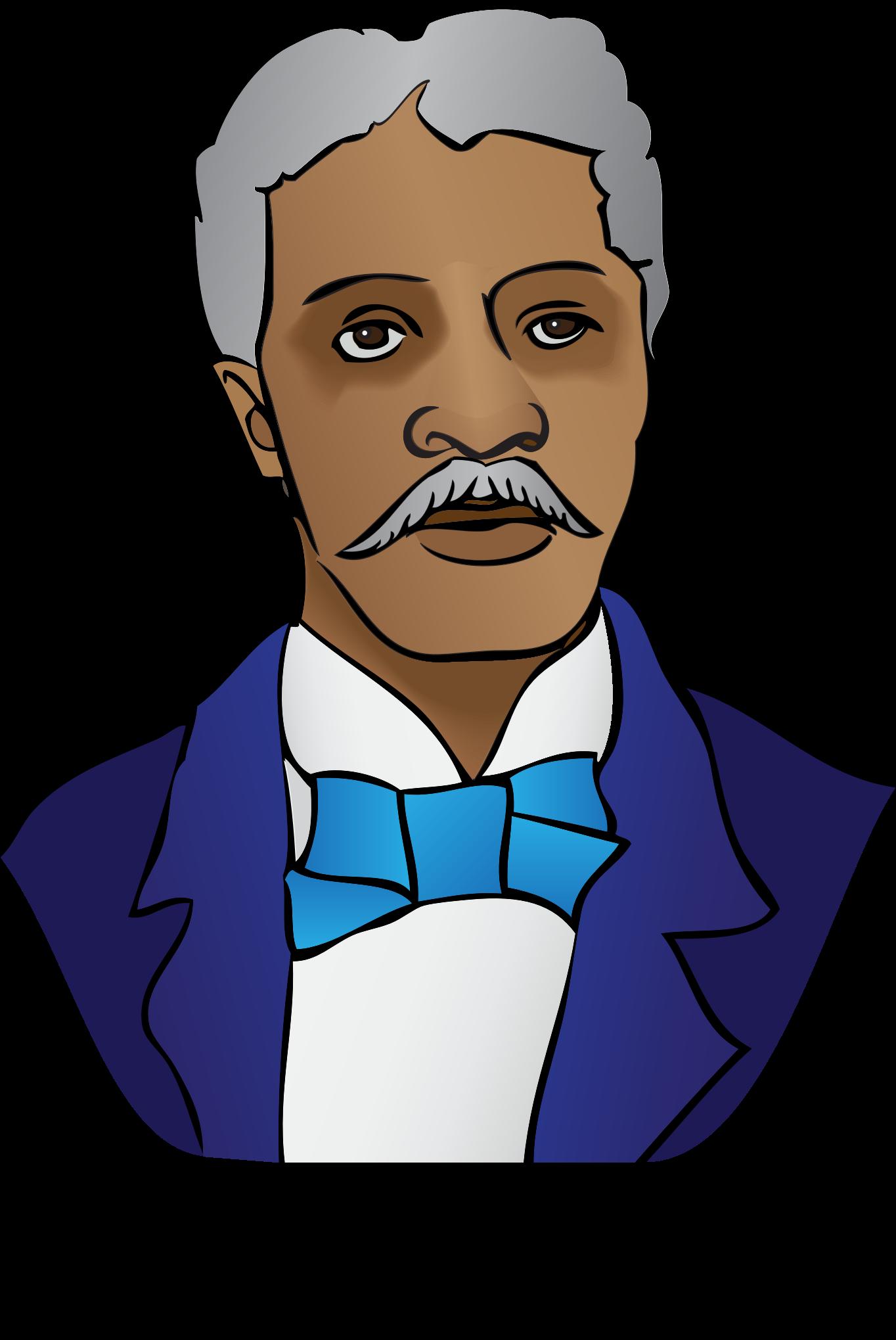 Head clipart george washington Washington George George Carver Clipart