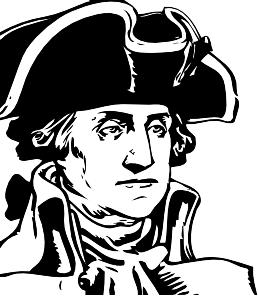 Head clipart george washington Washington George George  art