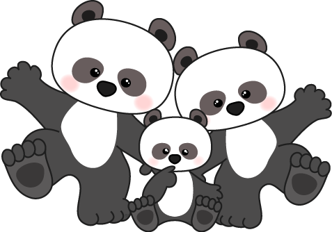 Panda clipart panda bear Clipart 3 clipart panda illustrations