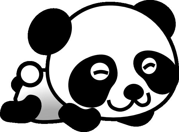 Red Panda clipart panda head #4