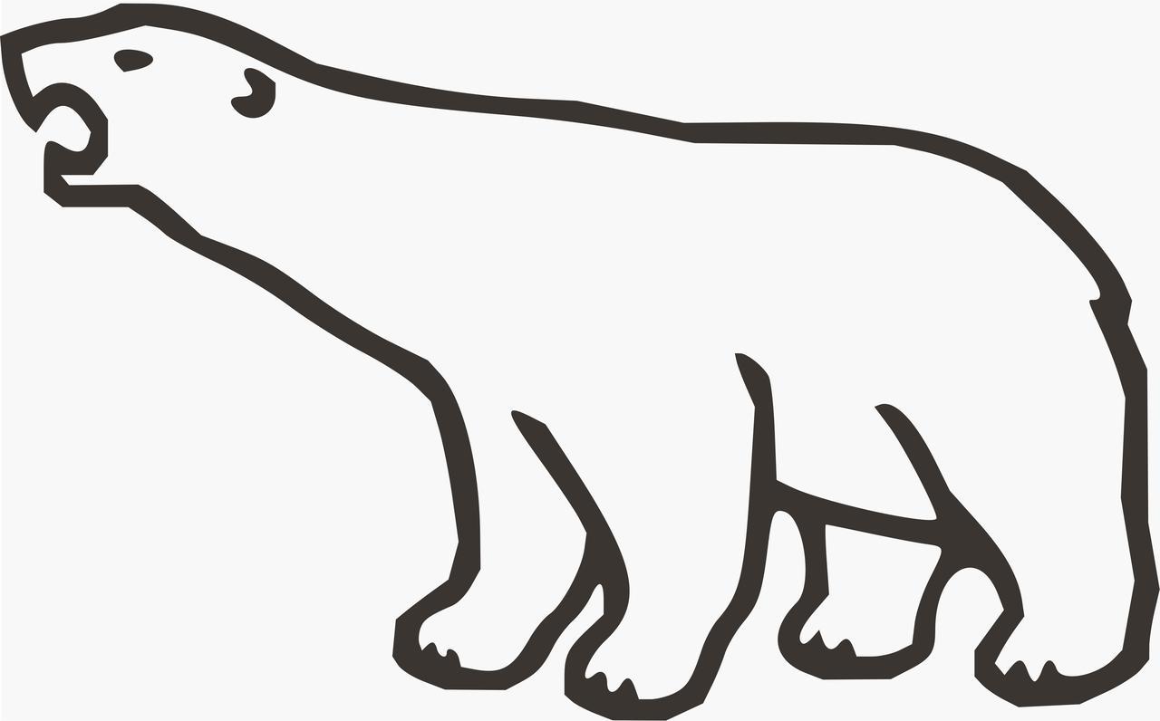 Cartoon clipart polar bear Bear Clipart Polar Stock Clipart