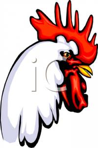 Rooster clipart rooster head #3