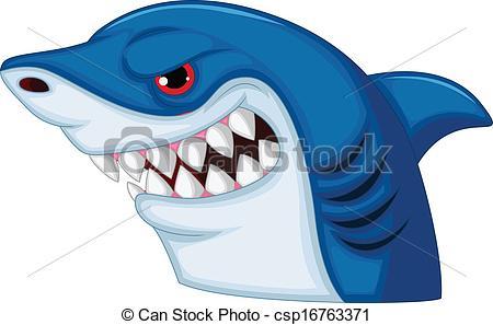 Shark clipart shark head #2
