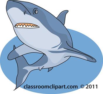 Shark clipart for kid #2