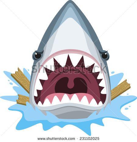 Shark clipart shark head #1