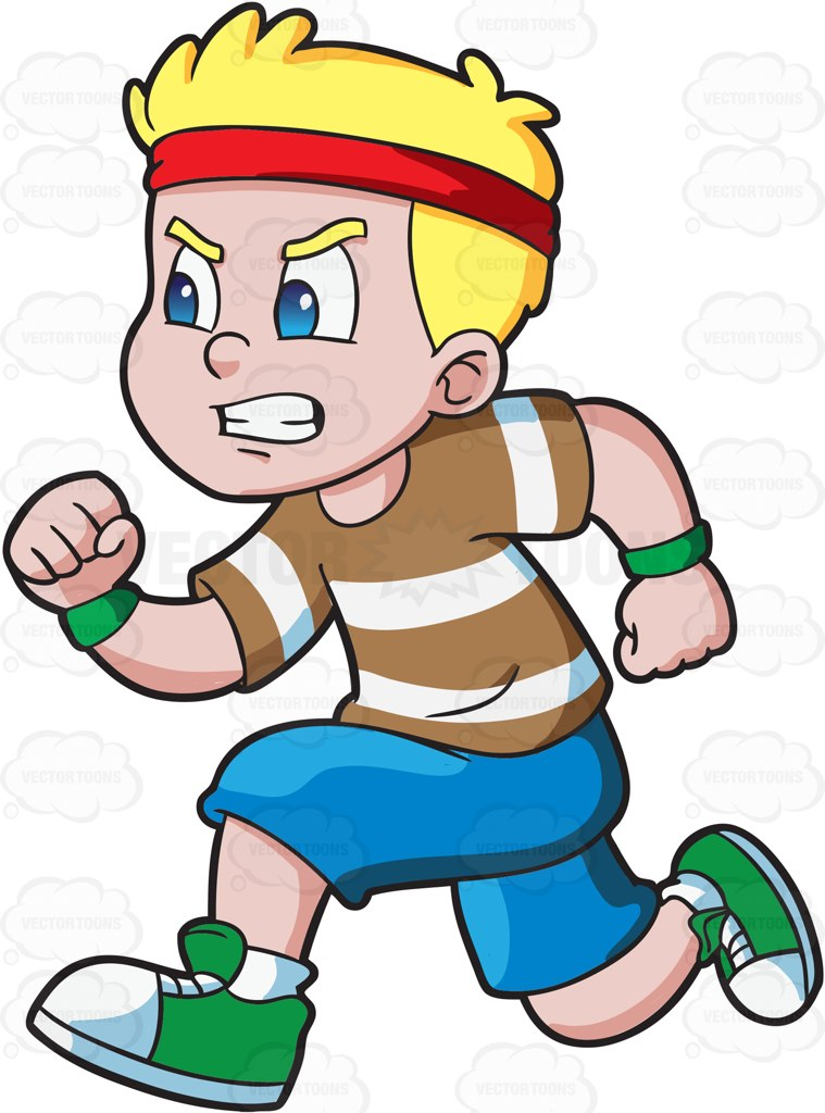 Race clipart child athletics A race race to win