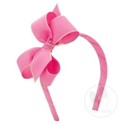 Headband clipart bow W/Gold Edge Headband OMG Medium