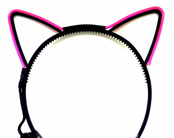 Headband clipart cat ear EDC Cat Light Ears ears
